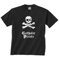 phatmass Catholic Pirate Shirt