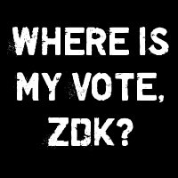 where is my vote, zdk?